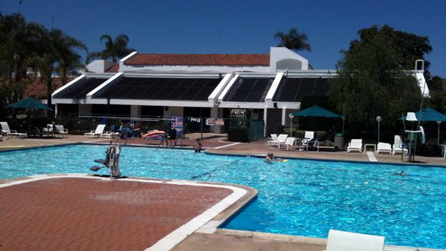 Ocean Hills Country Club pool.