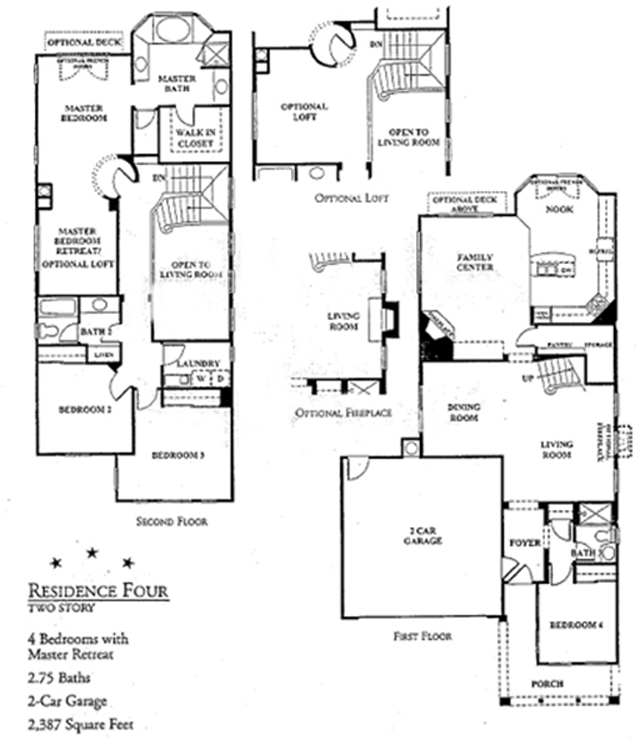 Hanover Beach Colony Floorplans